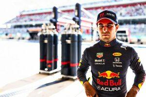 ペレス「ポジティブな初日。もう少しタイムを見つけ出してポール争いに加わりたい」レッドブル・ホンダ/F1第17戦