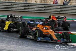 マクラーレン代表、トルコGPで5位のサインツJr.をベタ褒め「フェラーリが狙った理由を証明した」|F1トルコGP
