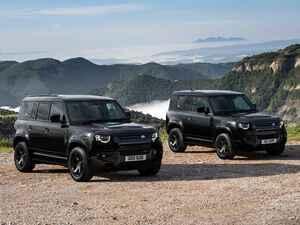 ディフェンダー90/110に、180台限定のブラック内外装仕様「ダブルオーブラック エディション」登場
