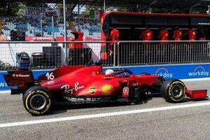 フェラーリF1、ロシアで大幅改善の新パワーユニットを導入。ルクレールがペナルティで後方グリッドスタートに