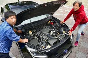 新型BRZの素グレード、Rを購入した弟子の愛車に試乗! 国沢親方も「より上質になって、こらいいね!」