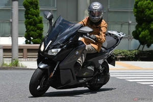 販売店に聞く電動バイクのオーナー像 BMWの電動バイク「Cエボリューション」の場合