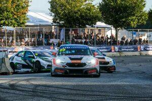 TCRデンマーク第5戦は2戦ぶり復帰ヤン・マグヌッセンが勝利も、最終ヒートで再びのマシン大破
