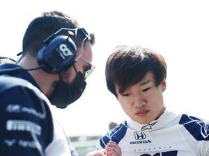 角田裕毅、前半戦の経験をふまえて、いよいよラストスパート開始【F1第15戦ロシアGP直前レポート】