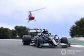 F1ポルトガルGP予選:ボッタスがハミルトンを0.007秒差で下しPP、フェルスタッペンはトラックリミットに泣く。角田Q2敗退