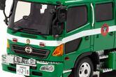 緑ボディにはどんな意味が? 1/43スケールの「日野レンジャー」ミニカー500台限定発売