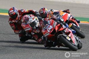 【MotoGP】テルエルGP13位のアンドレア・ドヴィツィオーゾ「タイヤが完全に終わっていた」タイトルの芽は潰えた?