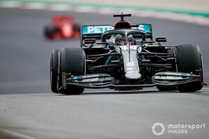"""ハミルトン92勝目は圧勝。その要因は""""タイヤの使い方の巧さ""""にあり「ルイスはそれを得意としている」"""