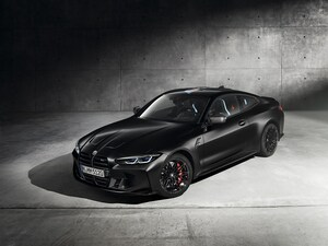 新型BMW M4がKithとコラボした限定を設定。スペシャルなBMWマークにも注目