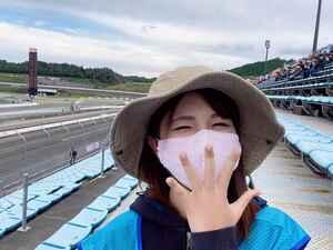 アプリを使って観戦☆ワクワクドキドキ全日本ロード選手権inツインリンクもてぎ(梅本まどか)