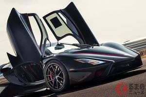 その時速はなんと533km/h! ハイパーカー「トゥアタラ」が量産車の世界最速記録を樹立