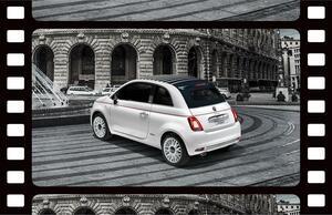 フィアット500をベースにイタリアの「甘い生活」を表現したオシャレな限定車「ドルチェヴィータ」登場