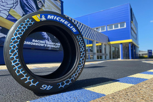 持続可能な原材料を46%使用したミシュランの高性能レーシングタイヤ
