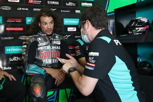 【MotoGP】モルビデリ、オランダGPの欠場が決定。トレーニング中に左膝の怪我が悪化