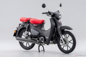ホンダ「スーパーカブ125」最新モデルを欧州に導入 わずか1.5Lの燃料で100KMの走行を実現する新エンジンを搭載