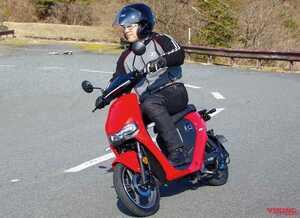 最新機能厳選・17万円台のチョイ乗り電動バイク「スーパーソコ シーユーミニプラス」試乗インプレッション