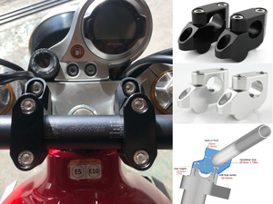 【ファンティック】ポジション改善でさらに乗りやすく! キャバレロシリーズ用ハンドルバーライザーがリリース!