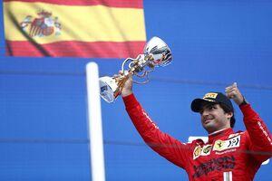 サインツJr.、予選2番手から3位のF1ロシアGPを「フェラーリで最高の週末だった」と高評価
