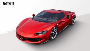 【フェラーリ×フォートナイト】人気バトロワゲームに「フェラーリ296 GTB」登場