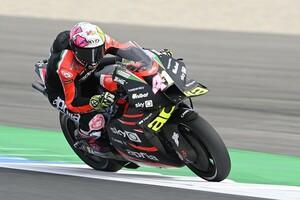"""【MotoGP】アプリリアに足りない""""パワー""""、今季中に改善できる? エスパルガロ「2022年を待つ必要はない」"""