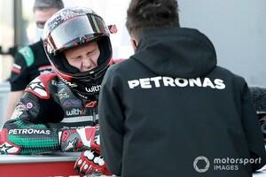 """【MotoGP】クアルタラロ、まさかの大失速で18位「フロントタイヤの内圧が""""制御不能""""だった」"""