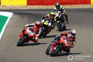 【MotoGP】ドヴィツィオーゾ、スズキ勢の安定感に脱帽「彼らとタイトルを争うのはかなり厳しい」