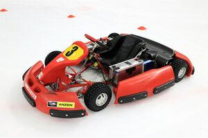 ドライバーチームまさかの優勝!? スケートリンクで電気カートレース開催!