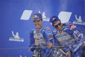 【完・全・勝・利】スズキが圧倒的! MotoGP2020第11戦アラゴンGPでリンスが優勝! ジョアン・ミルはランキングトップへ!【100%スズキ贔屓で楽しむバイクレース(8)/MotoGP】
