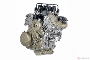 ドゥカティ次世代エンジン「V4グランツーリスモ」登場 リア・バンク休止機能の採用でライダーの快適性も向上