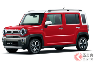 人気軽SUVがギラツキ顔に!? スズキ「ハスラー」がタフデザインなモデルを発売!