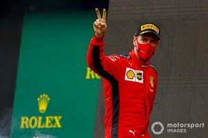 ベッテル待望の今季初表彰台。フェラーリのビノット代表「彼にとって重要な結果」|F1トルコGP