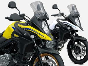 【スズキ】ミドルクラスのアドベンチャーモデル「V-Strom 650」シリーズの車体色を変更し3/12に発売
