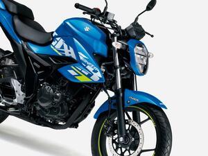 新車35万2000円の最強コスパ系150ccバイク! スズキの燃費王『ジクサー(150)』の2021年モデルが攻めのカラーに!? 価格と発売日は?【SUZUKI GIXXER】