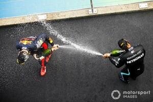 """F1、表彰台での""""シャンパンファイト""""にスパークリングワインを使用。フェッラーリ・トレントと契約"""