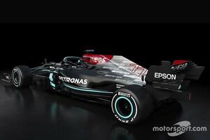 メルセデスの新車W12、最新版フロアは公開されず「ライバルにコピーされては困る」