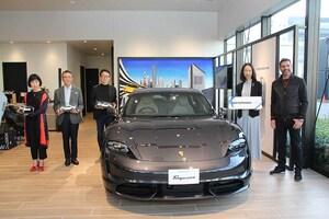 ポルシェのEVスポーツカー「タイカン」のデリバリーがスタート!「Porsche NOW Tokyo」で納車セレモニーが開催