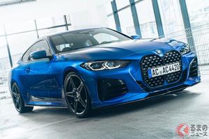 BMW新型「4シリーズ」をACシュニッツァーがパワーアップ! ローダウンで見た目も最高