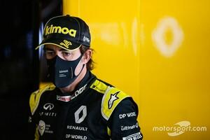 F1復帰のフェルナンド・アロンソ、テストには参加とCEOが認める。2月中旬に上あご骨折の負傷