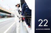 【角田裕毅F1第4戦密着】焦りが感じられたスペインGP。トラブル原因の調査を進め「すべてを見直したい」