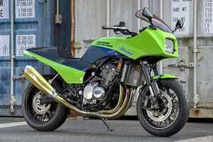 """ドレミコレクションZ900RS""""Ninja Style""""(カワサキZ900RS)インナータンク完成でZ900RSのコスプレ自由度が拡大【Heritage&Legends】"""