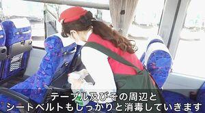 「バスは安心・安全」 日本バス協会が貸し切りバスの感染症対策を動画で訴求