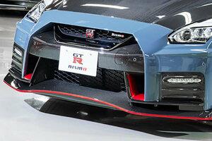 日産「GT-R NISMO」新モデル初公開 エンジン改良&軽量化「ポテンシャル上がった」