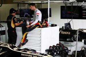 F1で10年を過ごしたグロージャン。ロータス時代には上り調子から一転「いいシートを獲得するのは難しかった」