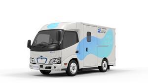日野、小型EVトラックを2022年初夏に市場投入 専用FFプラットフォームで超低床やウォークスルー実現