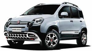 FCAジャパン、フィアット「パンダ」に限定車「クロス4×4」 専用デザインに6速マニュアルと4WD