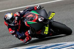 【MotoGP】ドヴィツィオーゾ「アプリリアでのテストは賢い決定」5月にムジェロで2回目を予定