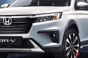 ホンダ新型「BR-V」世界初公開! 6年ぶり全面刷新で3列SUVが迫力顔に進化 尼で発表