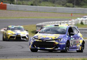 水素エンジン搭載カローラ、「スーパー耐久シリーズ2021 鈴鹿大会」参戦を通じて水素を「はこぶ」に挑戦