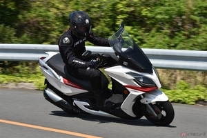 利便性と経済性が魅力の250スクーター 台湾のキムコ「G-Dink250i」は走りも軽快