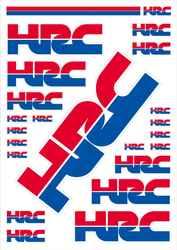 ワークス・ステッカー「HRCステッカーキット」は1980円!